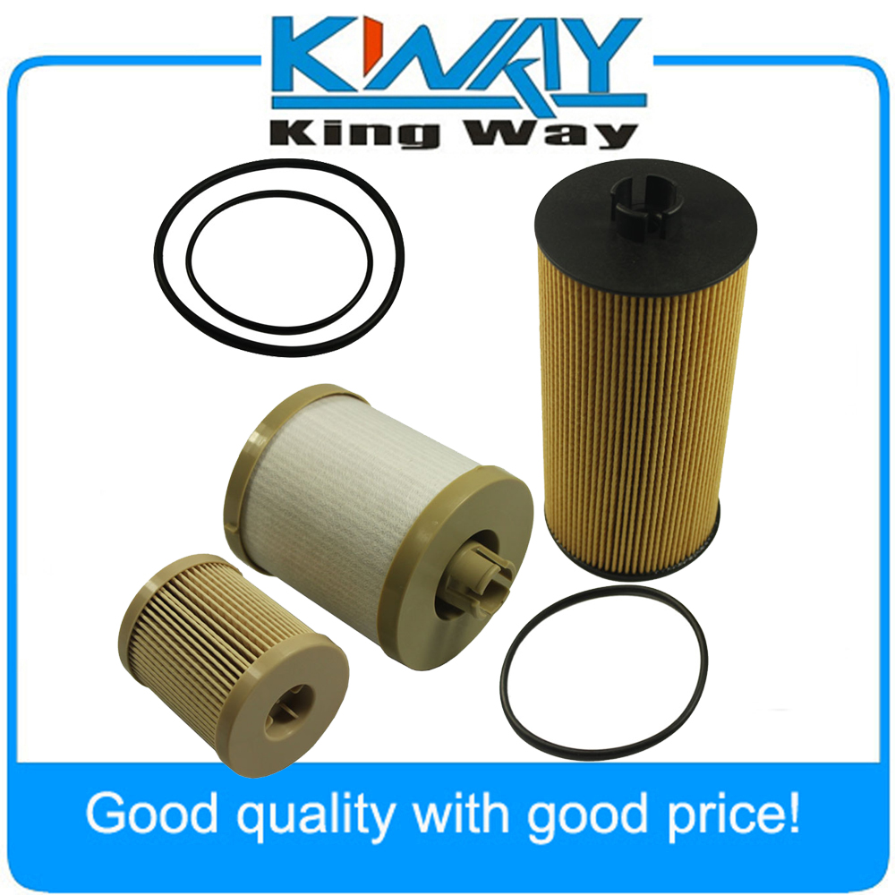 diesel oil filter fuel filter fits for ford powerstroke 2003 2007 6 0l fl2016 fd4604 in oil filters from automobiles motorcycles on aliexpress com  [ 1000 x 1000 Pixel ]