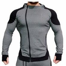 Mens hoodies Singuletts Fitness