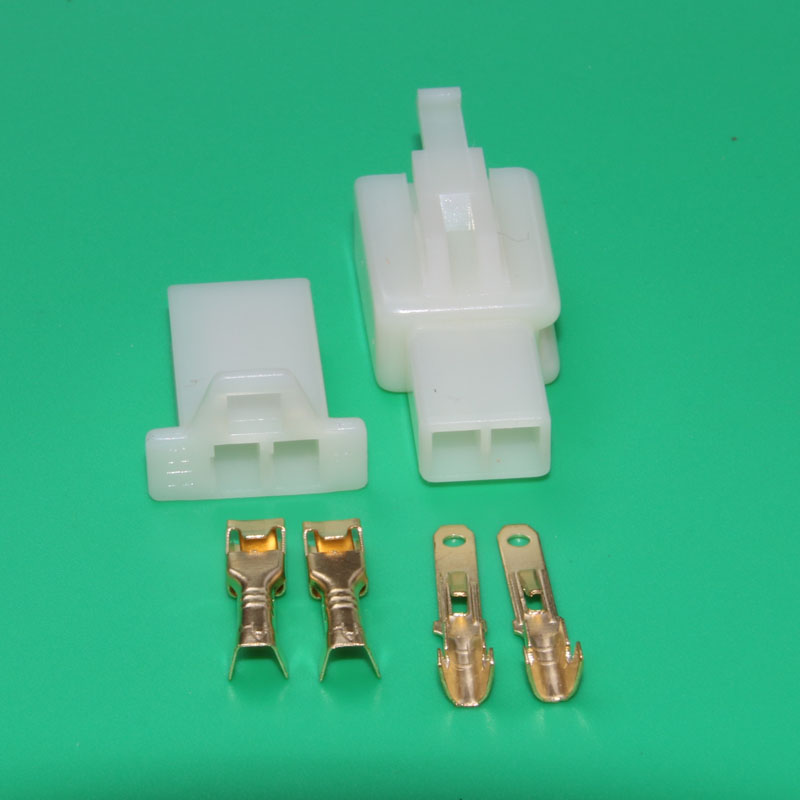 ᑐ10 sets 2.8mm 2 pin connector male female wire terminals socket ...