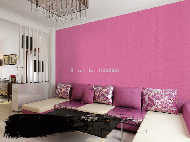 Online Shop PVC Waterproof 3D Embossed Wallpaper Modern Simple Plain ...