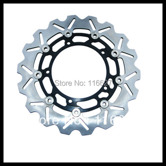 Freeshipping Aftermarket  Motorcycle DL V-STROM 650 2007-11 DL V-STROM ABS 2007-12 Front Brake Disc Rotor For SUZUKI free shipping motorcycle brake disc rotor fit for suzuki dl1000 v strom 2002 2010 front