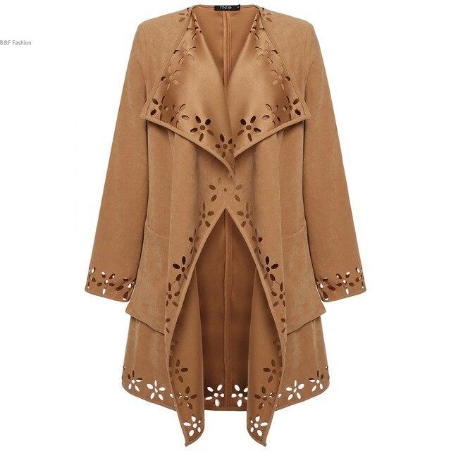 Nova moda primavera/Casual Trench Coat longa das mulheres Casacos roupas soltas para senhora de boa qualidade Outerwear Casaco
