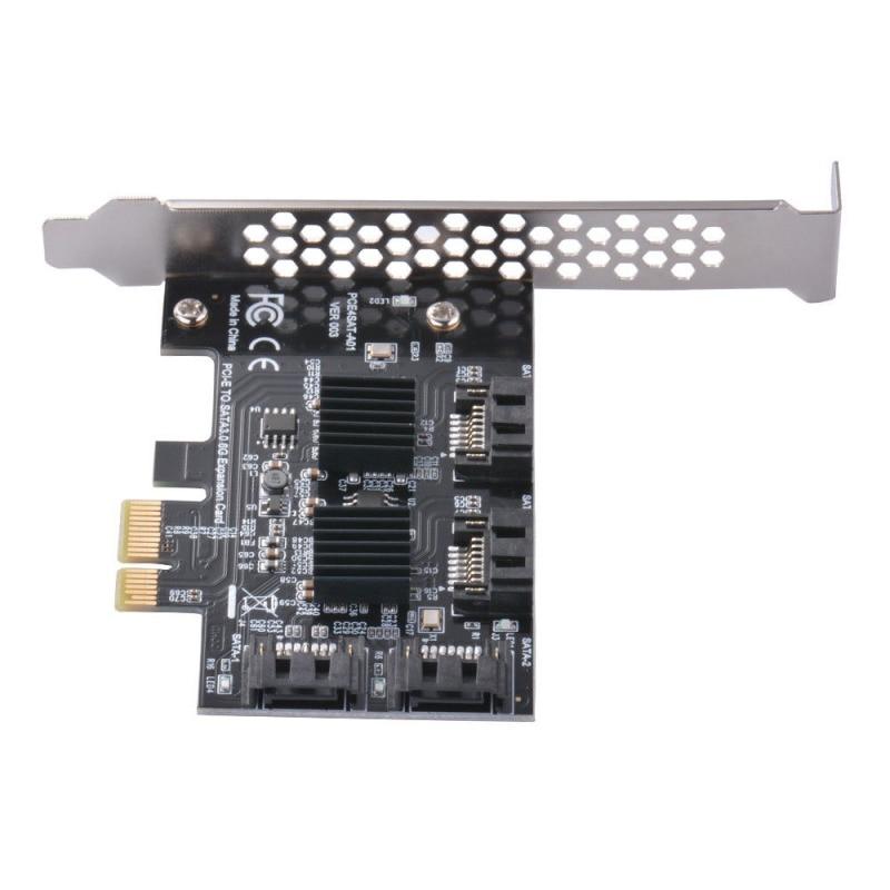 PCE4SAT-M01 To SATA 3.0 Expansion Card Three Generations 4-Port IPFS AC1722