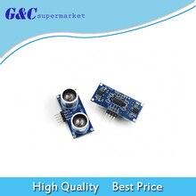 цена на 1PC HC-SR04 Ultrasonic Wave Detector Ranging Module HC-SR04 HC SR04 HCSR04 Distance Sensor For Arduino