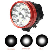 ISHOWTIENDA 30000LM 12 x CREE XM L T6 LED Flashlight For Bicycle Cycling Light Waterproof Lamp Frame Bicycle Accessories