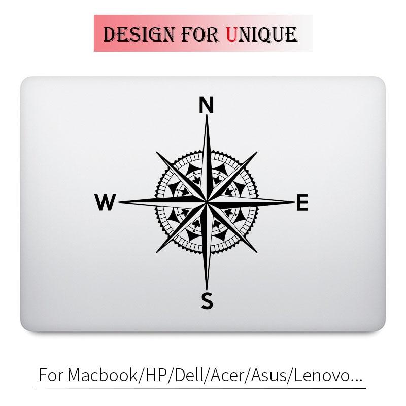 Classical Compass Decal Laptop Sticker for font b Apple b font font b Macbook b font