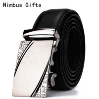Nimbus Gifts Q01 2018 Famous Brand Belt Men Top Quality Genuine Luxury Leather Belts For Men