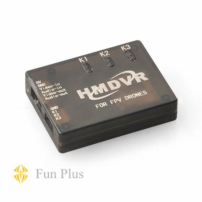 Mini DVR Recorder HMDVR for FPV Drones Video Audio Recorder free shipping hmdvr mini digital audio video recorder 30fps for fpv drones quadcopter qav250 kvadrokopter rc drone