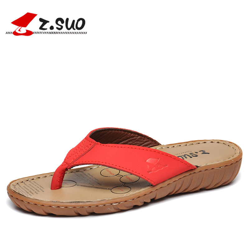 women flip flops summer beach sandals Shoes Cowhide Slippers Cow Muscle Outsole Summer 2018 Sandals For Women Size:35-39 Red полотенце collorista фламинго 60x146cm 2588690