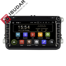 Isudar Car Multimedia Player Android 8.1 2 Din Auto DVD For Volkswagen/VW/Passat/POLO/GOLF/CC/Skoda/Octavia/Seat/Leon GPS Radio