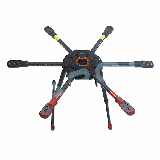 Tarot 810 TL810S01 Sport Hexacopter FPV 6 axis Hex copter Foldable Frame with Electric Retract Landing