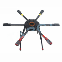 Tarot 810 TL810S01 Sport Hexacopter FPV 6-axis Hex-copter Foldable Frame with Electric Retract Landing Skid Upgrade of T810