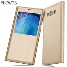 Smart View Flip Cover Leather Wallet Phone Case For Samsung Galaxy A5 2015 A7 GalaxyA5 A 5 7 SM A500 A5Case A700 A700F SM-A500F стоимость