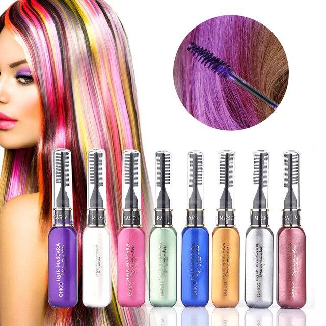 8 pcslot multicolor hair color wax washable temporary non toxic 8 pcslot multicolor hair color wax washable temporary non toxic diy hair color solutioingenieria Images