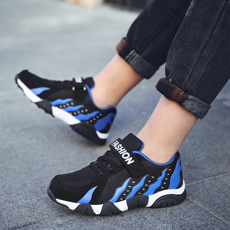 Boys High Quality Sneakers Soft Footwear Fashion Children Shoes Boys Casual Shoes Outdoor Rubber Boy Walking Shoes Kids Flats in Sneakers from Mother Kids