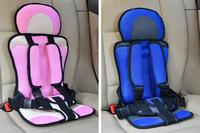Free Shipping Chair Baby Car Seat Safety Portable Booster Seat Adjustable Belt Simple Elegant Newborn Baby