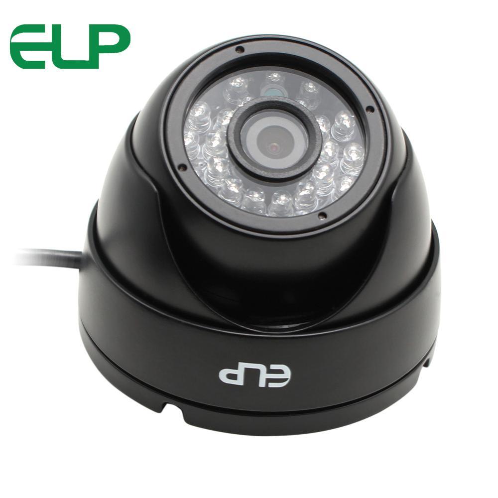Outdoor waterproof 1920*1080 USB camera OV2710 CMOS 24pcs IR LED night vision dome CCTV camera 1080p for Linux Windows with UVC