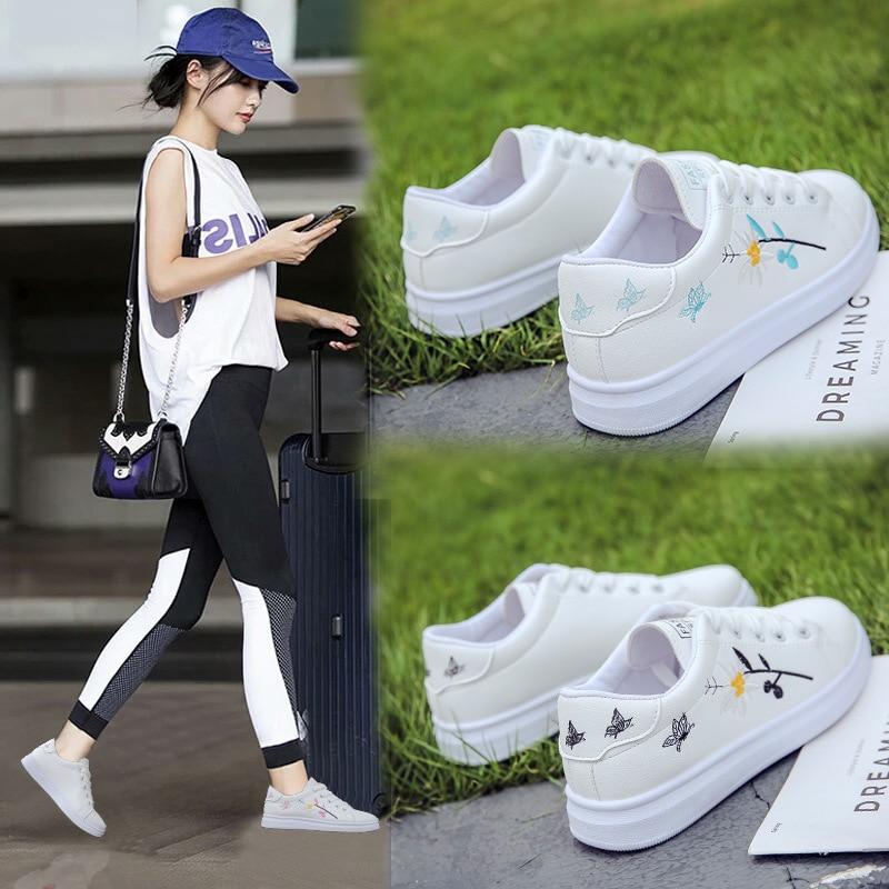 Women Vulcanize Shoes Sneakers