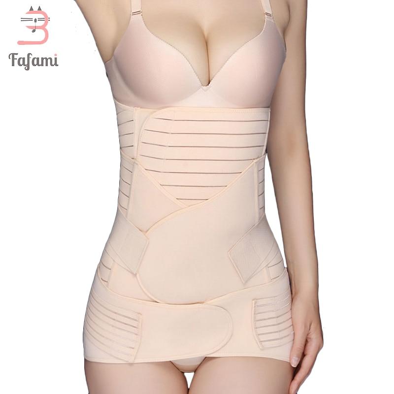 3 Pieces/Set Maternity Postnatal Bandage After Pregnancy Belt Underwear Intimates Postpartum Belly Band Belt For Pregnant Women