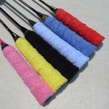 10Pcs/lot Tennis / Badminton Grip Racket Anti-slip Towel Glue Grips Tape Overgrips Racquet Over Grip Sweatband Wholesale