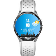 Smart Watch KW88 1,39 Zoll Runde Uhr MTK6580 Quad Core Android 5,1 3G WIFI SmartWatch 400 mAh 5,0 Mega Pixel Pulsmesser