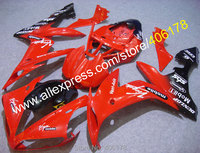 Hot Sales,Cheap fairing kit for YAMAHA 2004 2005 2006 YZF R1 YZF R1 YZFR1 04 05 06 Red Black fairings (Injection molding)