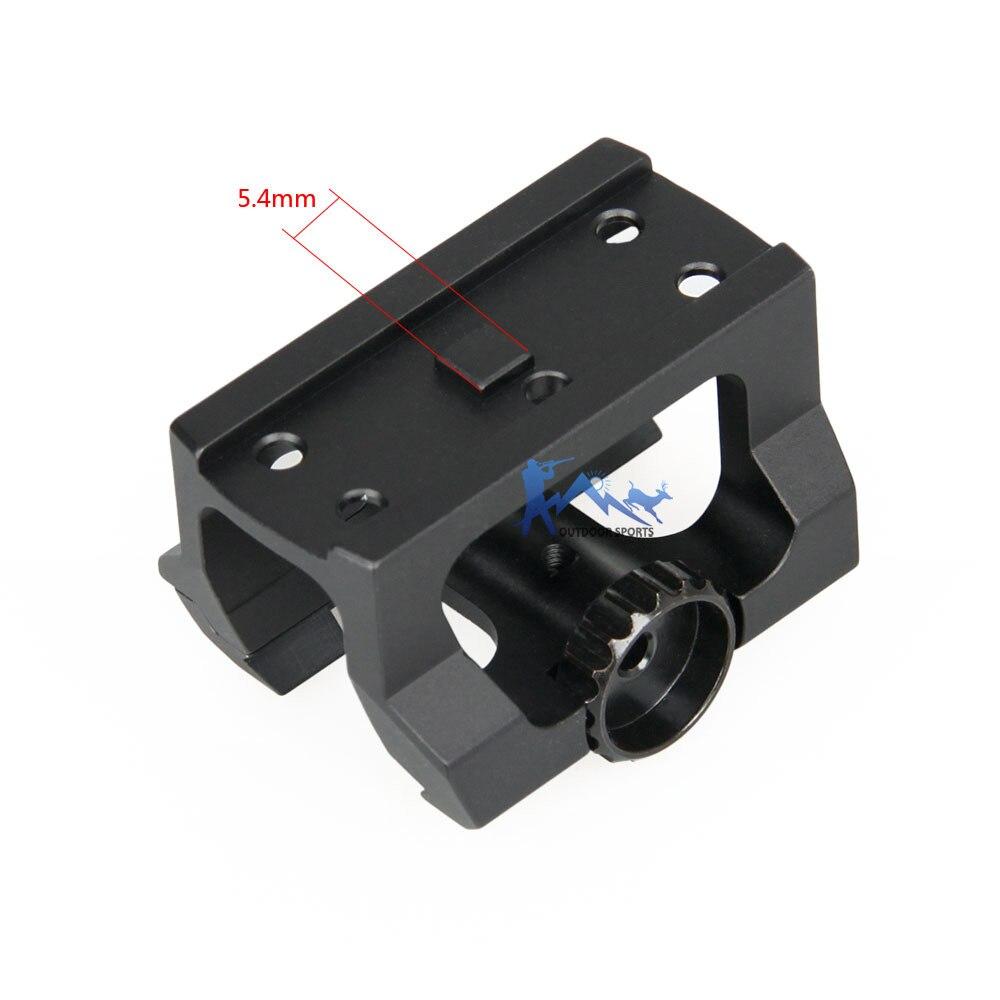sight scope em arma ak m16 airsoft acessórios OS24-0149