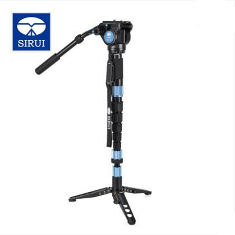 SIRUI P-424S Carbon Fiber Photo Video Monopod Professional Mobile Tripod  Monopod Portable Stable Bracket For Digital Camera SLR