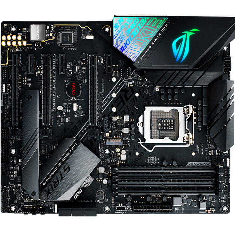 ASUS ROG STRIX Z390-F GAMING LGA1151 64GB 4DDR4 ATX Desktop Computer Game Motherboard supports I9 <font><b>9900K</b></font> 9700K image
