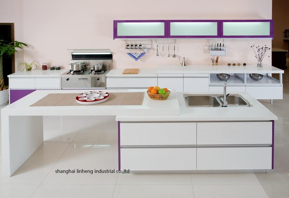 High Gloss/lacquer Kitchen Cabinet Mordern(LH-LA082)