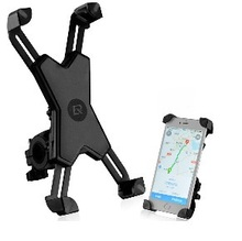 ROCKBROS Universal Bike Phone Stand PVC Bicycle Handlebar Mount Holder For iPhone Samsung Xiaomi Cellphone Cycling Accessories