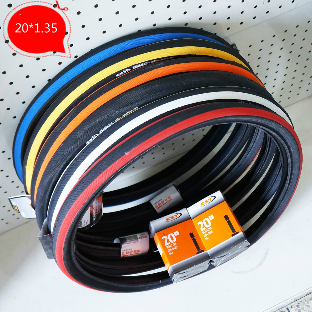 Aliexpress Com Buy 20x1 35 Colored Folding Bike Tires