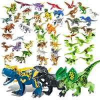 BuildingBlock Spielzeug Set Abbildung Indoraptor Velociraptor Jurassic Dinosaurier Triceratop Indomirus T-Rex Welt kompatibel mit