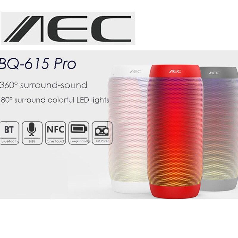 AEC BQ-615 pro Portable Speaker Wireless speaker Bluetooth Speaker PC Computer Vibration Speaker surround-sound цены