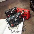 Marca de diseño original de la vendimia cadenas casuales hotsale partido de las señoras del monedero de las mujeres de hombro del diseñador famoso bolsos crossbody mensajero