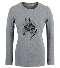 Unicorn horse head VTG Quote Design Printed Printed T-Shirt Women's Girl's Graphic Tee Tops Tshirt Grey White Yellow