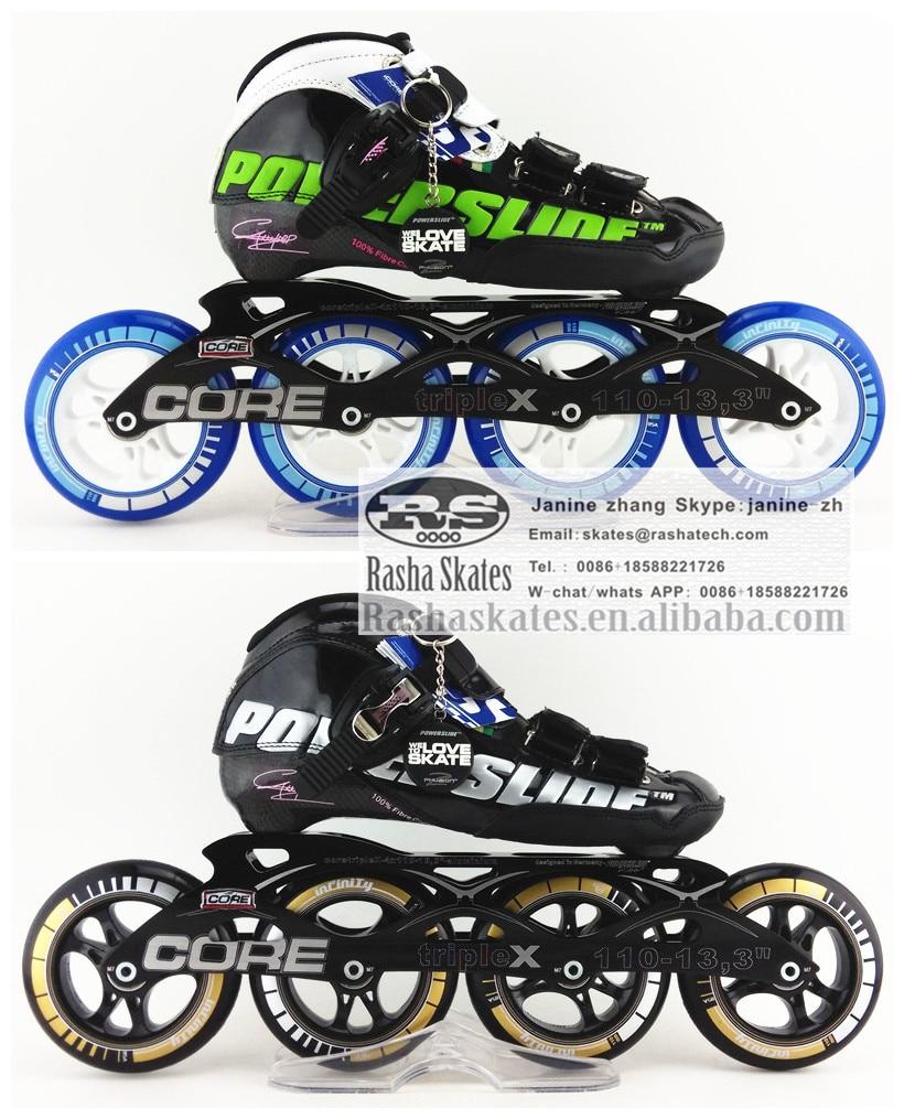 Prix pour Ps C6 chaussures roller Professionnels patins à roulettes enfant adulte avec PS roues patinage de vitesse patins 4 rodas