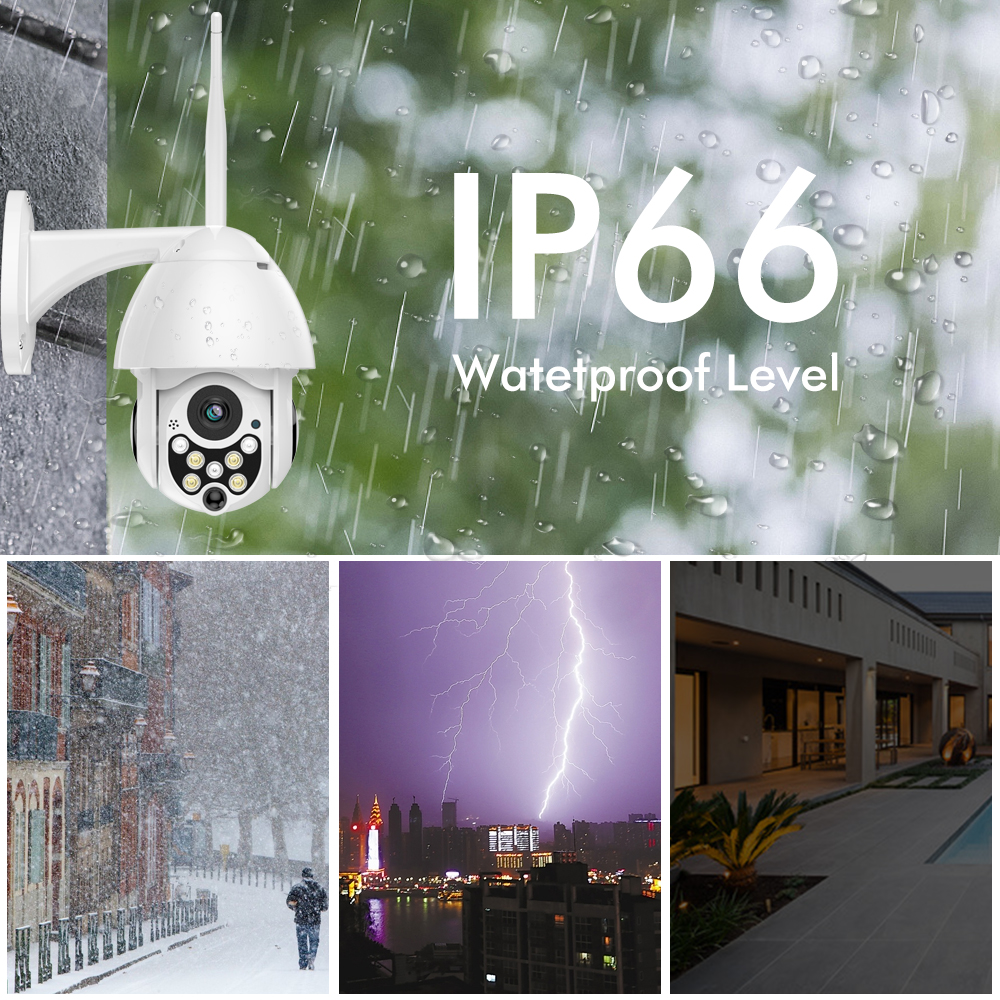 YI CCTV IP Camera Outdoor HD 1080P Waterproof Night Vision Wireless 2.4G Wifi Security Cam Surveillance System Global Cloud - 6