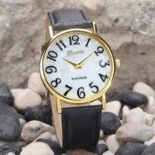 Fantastic Big Number Watch Women Retro Digital Wrist