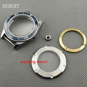 Image 5 - DEBERT coque de montre daffaires à lunette en céramique 41mm, compatible avec Miyota 8205/8215,ETA 2836 DG2813/3804, mouvement mécanique automatique