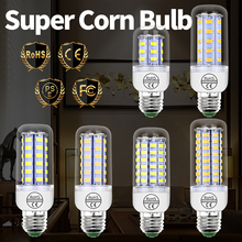 GU10 Bombillas led Lamp E27 220V Corn Bulb Led E14 Candle Light Bulb 5730 SMD Energy Saving Ampoule for Home 3W 5W 7W 9W 12W 15W e27 led lamp corn bulb 220v e14 led candle bulb gu10 light bulb led 3w 5w 7w 9w 12w 15w bombillas smd 5730 chandelier light 230v