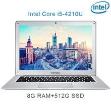 "P7-05 8G RAM 512G SSD i5 4210U 14 Untral-thin notebook Gaming laptop desktop computer"""
