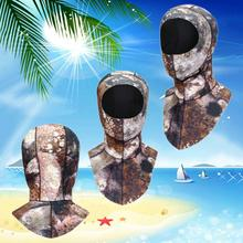 2019 3mm Diving Hood With Shoulder Spearfishing Hat Winter Snorkel Swim Warm Cap Surfing Hat Diving Caps