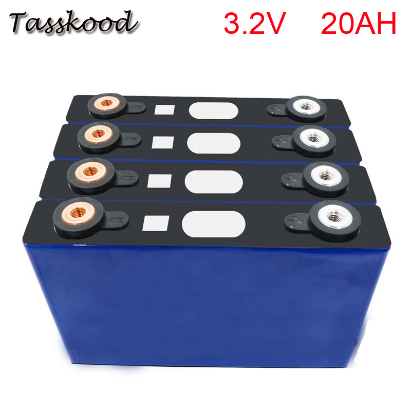 No taxes Long cycle life Rechargeable lifepo4 battery 3.2V 20ah battery for UPS E-bike and solar storage