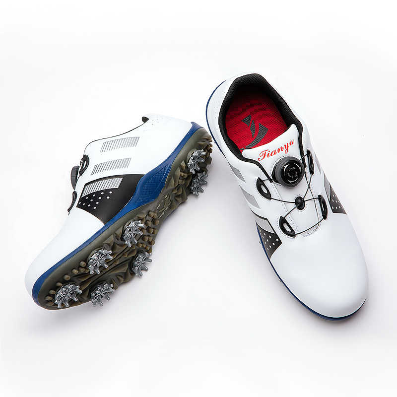 הגעה חדשה גולף נעלי גברים נעלי סינטטי ספורט מים הוכחה סניקרס רחב מצויד ספורט נעלי הנעלה 39-44