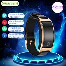 CK11S Bluetooth Good Band Blood Strain Coronary heart Fee Monitor WristWatch Clever Bracelet Health bracelet Tracker Pedometer