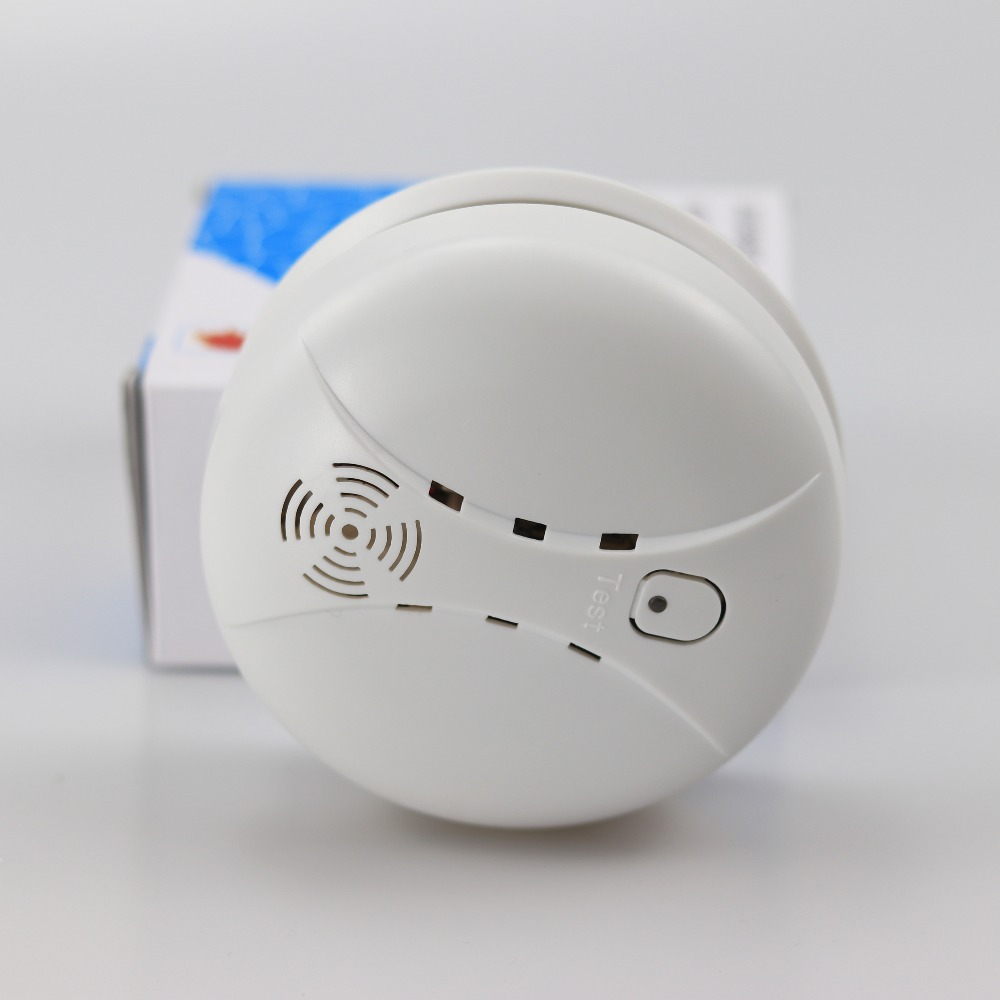 433MHZ Wireless Smoke Detector Gsm Alarm Sensor For Home Security Alarm Host