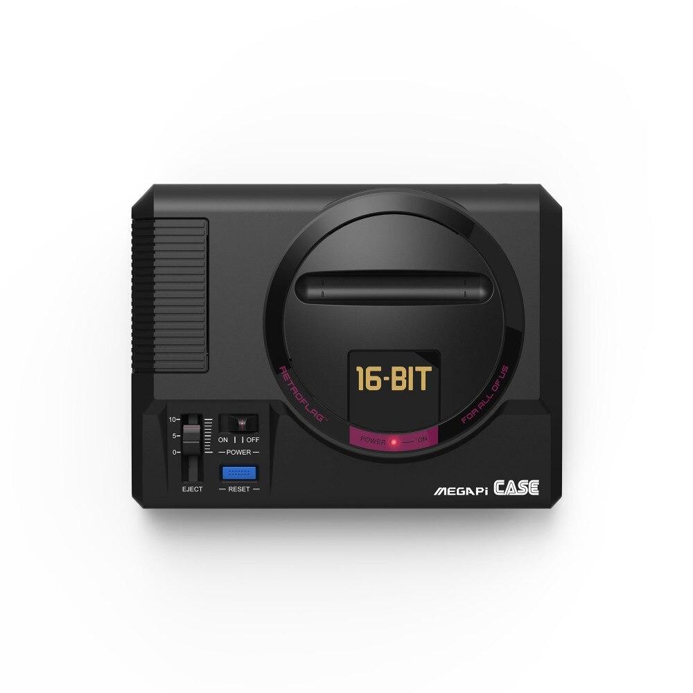 Retroflag MEGAPi FALL mit Funktionellen Power-Taste und Sicher Abschaltung für Raspberry Pi 3 Modell B, B +, pi 2 Modell