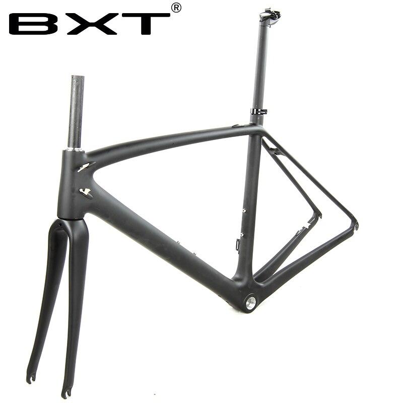 Route de cadre en carbone 2018 vélo cadres Léger Di2 avec mécanique vélo de course carbone route cadre carbone vélo pièces