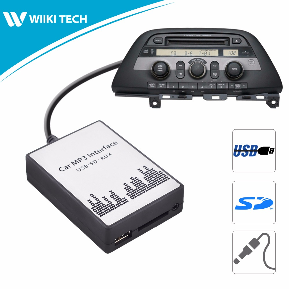 Apps2car Usb Sd Aux Car Digital Music Changer For Toyota: APPS2Car Car Radio USB SD AUX Interface Digital Music